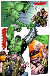 The Incredible Hulk vs. Hercules (World War Hulk)