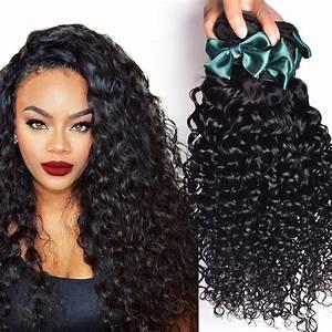 Brazilian Virgin Hair Water Wave 4 Bundles Brazilian Curly ...