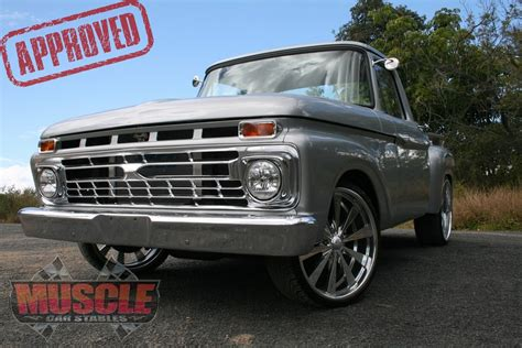 1966 ford f100 custom truck muscle car stables