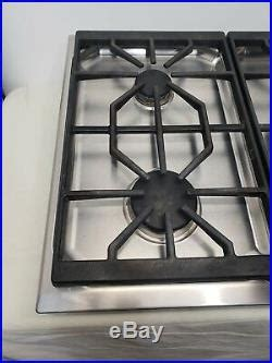 wolf stainless steel ctgs  gas cooktop stovetop range cooktops appliances