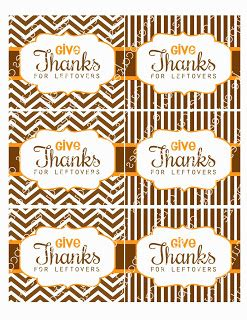 cupcake cutiees thanksgiving leftover labels