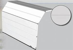 tablier mono rainure portes de garages habitat et With tablier porte de garage