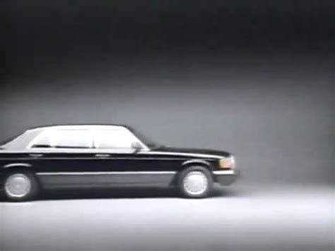 Cadillac Sedan De Ville Smarmy Luxury Car Commercial, 1990
