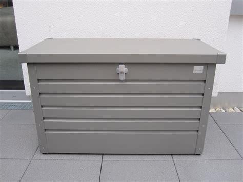 biohort freizeitbox gr  silber metallic ca