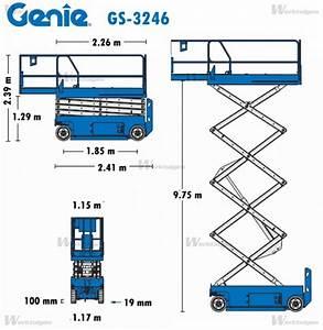 Genie Gs-3246 - Schaarhoogwerkers - Genie