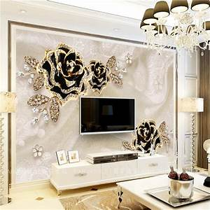 compare prices on black roses wallpaper online shopping With what kind of paint to use on kitchen cabinets for jewelry price stickers