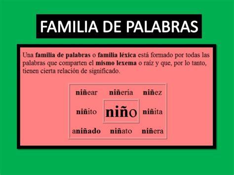 Familia Depalabras