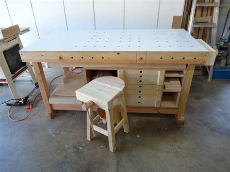 flair woodworks shop stool build  trevors workshop
