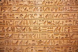Self Adhesive Egyptian hieroglyphics egypt Decorating