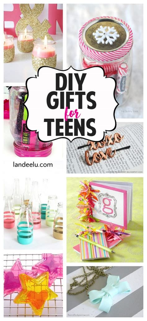 diy gift ideas  teens landeelucom