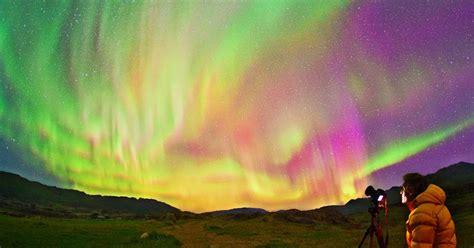in diretta dalla ciph soso news aurore boreali in diretta dalla groenlandia