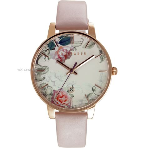 Ladies' Ted Baker Printed Floral Dial Watch (te10030653. White Yellow Gold Engagement Rings. Square Diamond. Valuable Watches. Solitaire Diamond Engagement Rings. Turbion Watches. Bracelet Silver. 18k Gold Bands. 18k Gold Ankle Bracelet