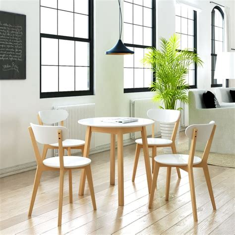 bistro table and 4 chairs small round table and 4 chairs birch wood bistro coffee