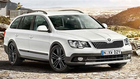 skoda superb  outdoor  review carsguide