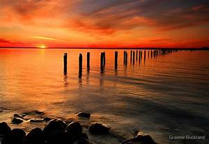 """""""Clifton Springs Sunset - Clifton Springs Victoria"""" by"""