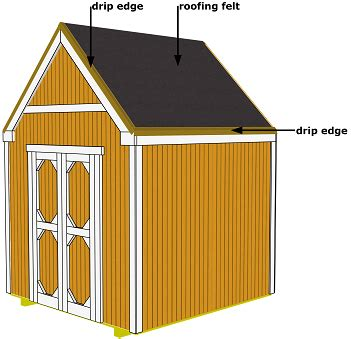 gres felt  shed roof wickes