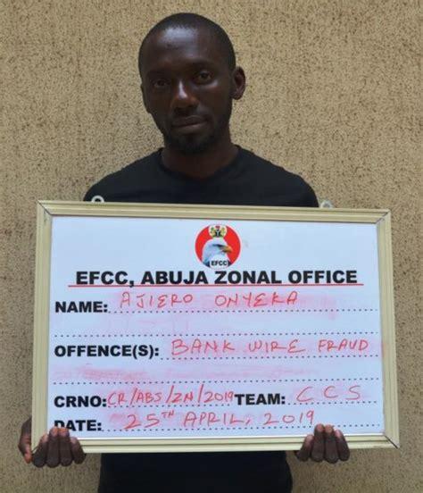 Bank Wire Fraudsters Nabbed Efcc Crime Nigeria
