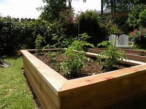 Building Vegetable Boxes for a Greek Garden - California