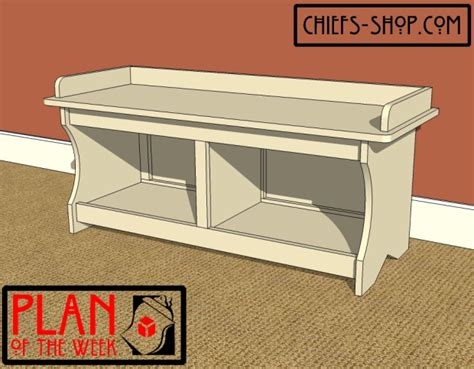 woodworking plans entry bench plans
