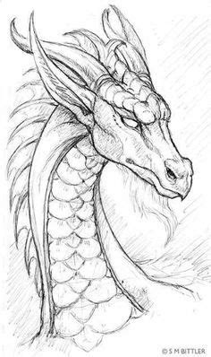 Cool dragon drawing | Pencil drawings of girls, Drawings
