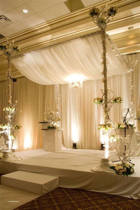 elegant american wedding stage decoration wedding ideas