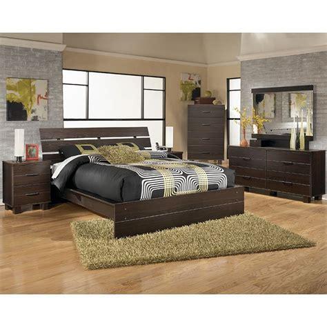 edmonton platform bedroom set  signature design