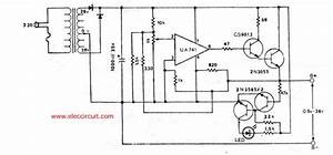 simple variable power supply circuit using ic 741 and With simple power supply variable voltage 0 15v max output 1a