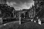 Gothic Graveyard | Another shot of Trinity Cathedral in ...