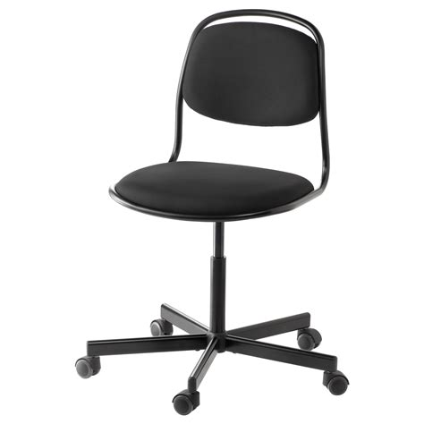 bureau metal ikea örfjäll sporren swivel chair black ikea
