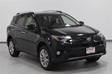 New 2018 Toyota Rav4 Hybrid Limited For Sale Amarillo Tx