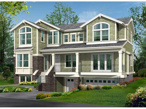 modern raised ranch plans raised house plans drive  garage raised home designs
