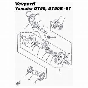 Vevparti Kompl   Yamaha Dt50  - Vevparti