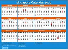 Calendar 2019 Singapore hd wallpaper 2018