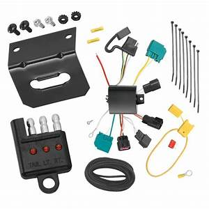 Trailer Wiring And Bracket And Light Tester For 2009 Dodge