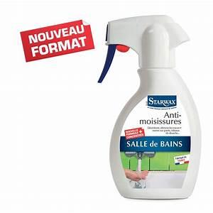 anti moisissures pour joints et salle de bains starwax With comment nettoyer moisissure joint salle de bain