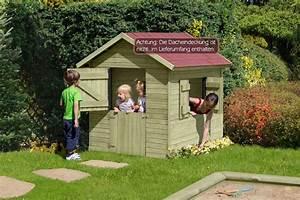 Bauanleitung Spielhaus Holz : kinder spielhaus marie aus holz gartenhaus f r kinder ~ Michelbontemps.com Haus und Dekorationen