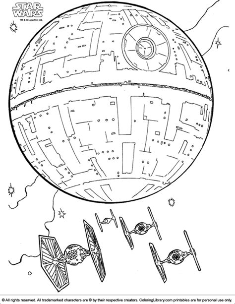 sta colora wars coloring pictures coloring home