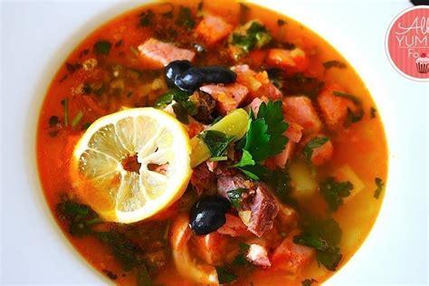 russian beef soup recipe solyanka mealz