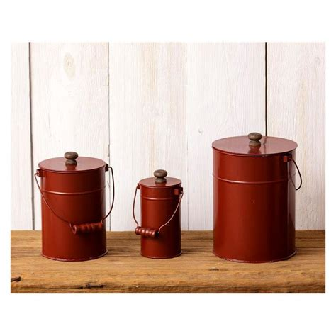 Just validate the high seriousness and responsibility of the seller, who reimbursed me 100% of. Vintage Red Kitchen Canisters 8T1553 - Baubles-N-Bling
