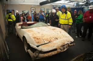 national corvette museum sinkhole to be filled photo