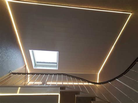led profil decke strom licht beleuchtung profile f 252 r led stripes kabel shop mit top preisen kab24 de