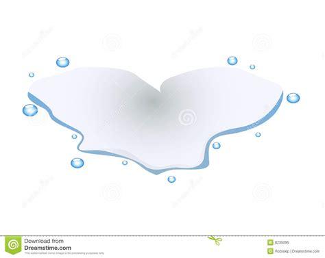 water formed in heart shape royalty free
