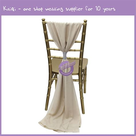 chagne new diy chair sash wholesale wedding chair