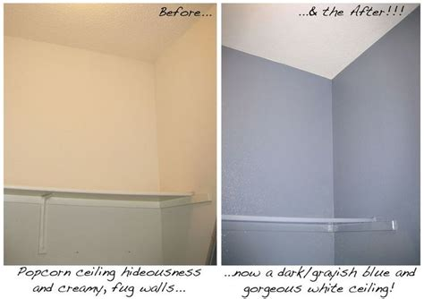 Scraping Popcorn Ceilings While by 1000 Images About How To Popcorn Ceilings Paint Or Cover