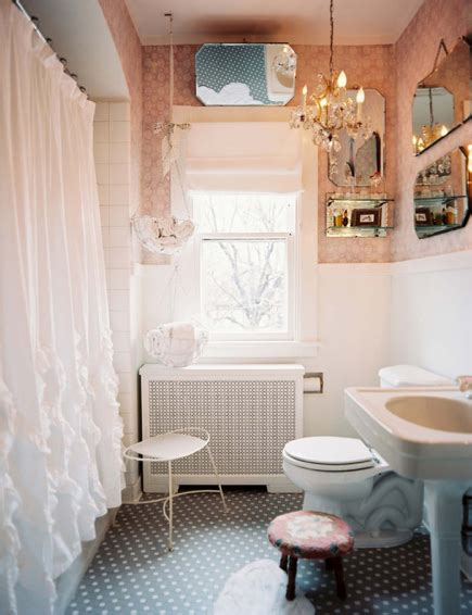 chic interiors pretty girly bathrooms