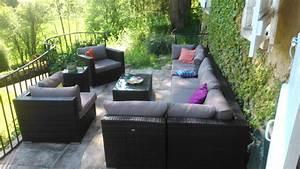 Promo Salon Jardin : promo salon de jardin en resine table jardin aluminium pas cher maison boncolac ~ Teatrodelosmanantiales.com Idées de Décoration