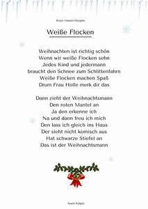 U0026quot, Wei, U00dfe, Flocken, U0026quot, 3, -, Weihnachtsgedicht, U0026, Lied