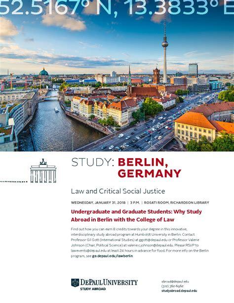 study opportunity berlin libris