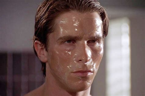 I Followed Patrick Bateman's Psychotic Skincare Routine