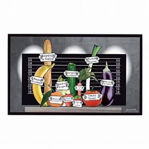Tapis Cuisine Alinea : tapis de cuisine ludik gris 45x75cm ~ Teatrodelosmanantiales.com Idées de Décoration